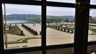 Le château de Versailles, vue sur les jardins  (TRIPELON-JARRY / ONLY FRANCE)