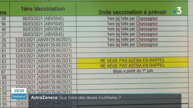 Vaccin contre le Covid-19 : que faire des doses inutilisées d'AstraZeneca ?