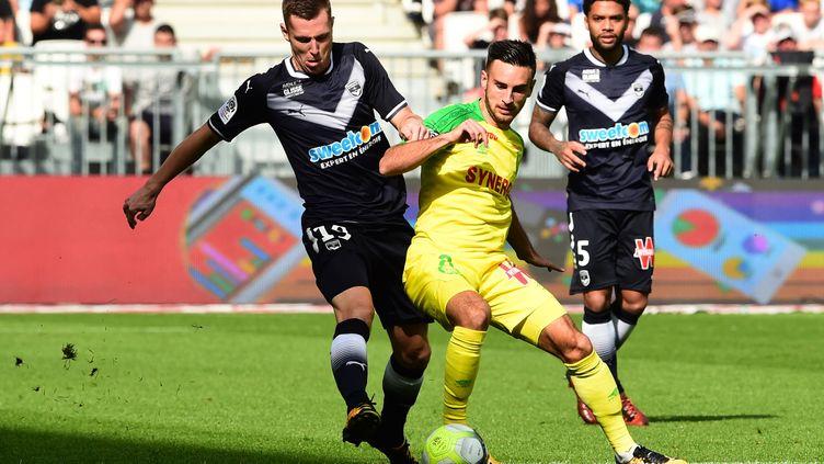 Bordelais et Nantais se quittent sur un score de parité. (NICOLAS TUCAT / AFP)