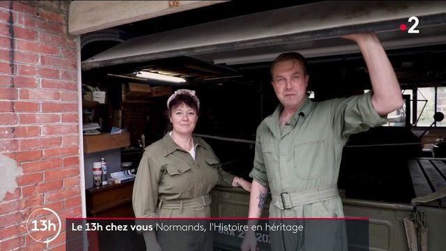 Normandie : un couple passionné par la Seconde Guerre mondiale plonge dans le passé