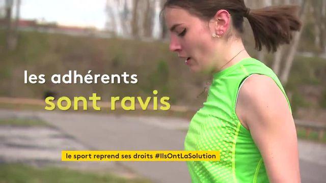 Dans l'Aisne, un camion-gym propose du sport itinérant en plein air