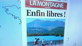Le Kiosque à journaux : la liberté retrouvée dans les Unes de la presse régionale (FRANCE 2)