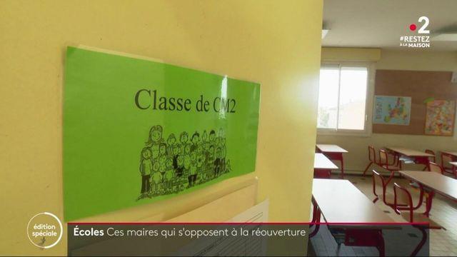 Déconfinement : dans toute la France, des maires refusent de rouvrir les écoles