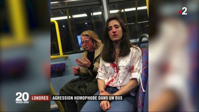 Londres : une agression homophobe dans un bus choque l'Angleterre