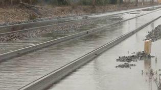 Intempéries : le trafic ferroviaire perturbé dans le Sud-Ouest (FRANCE 3)