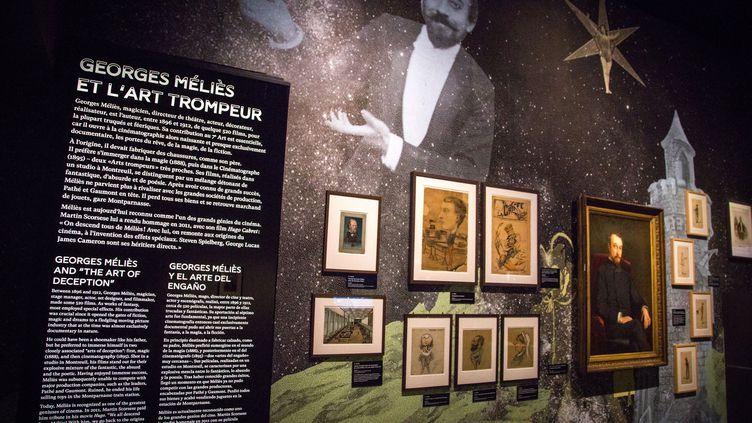 """A La Cinémathèque française, l'exposition """"La magie du Cinéma"""" célèbre Georges Méliès. (LA CINEMATHEQUE FRANCAISE)"""