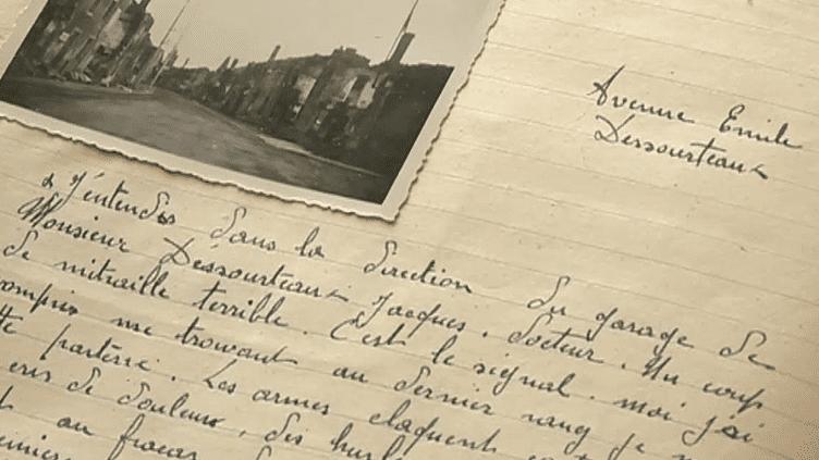 6 mois après, Mathieu Borie, l'un des survivants du massacre d'Oradour-sur-Glane en juin 1944, a raconté en détail cet épisode douloureux de la Seconde guerre mondiale.  (culturebox - capture d'écran)
