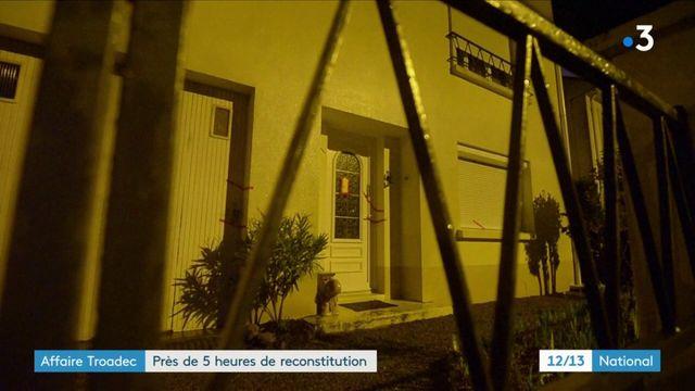 Affaire Troadec : près de 5 heures de reconstitution