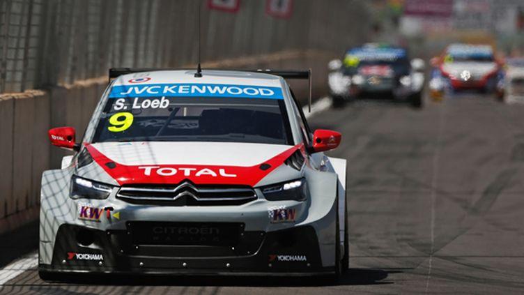 Sébastien Loeb a frappé fort avec sa Citroën C-Elysée (@TWORLD)