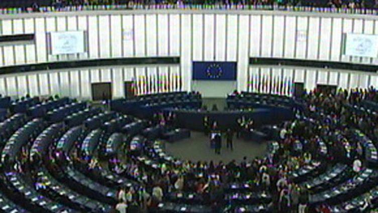 Le Parlement européen, à Strasbourg. (France 2)