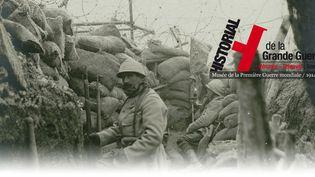 Poilus dans les tranchées  (Historial de la Grande Guerre)