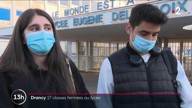 Covid-19 : la situation d'un lycée de Drancy inquiète