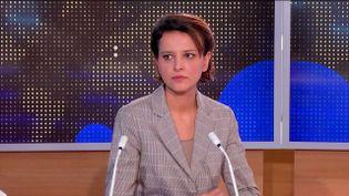 Najat Vallaud-Belkacem (FRANCEINFO)