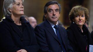 Penelope et François Fillon, en novembre 2015. (LIONEL BONAVENTURE / AFP)