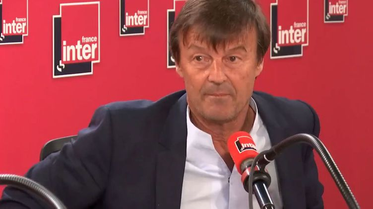 Nicolas Hulot le 28 août 2018 sur France Inter. (FRANCE INTER / RADIO FRANCE)
