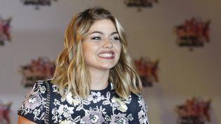 Louane aux NRJ Music Awards à Cannes, 7 novembre 2015  (VALERY HACHE / AFP)