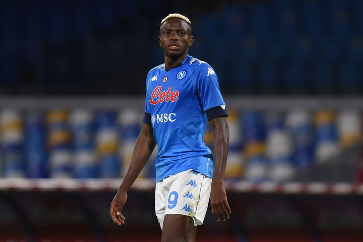Victor Osimhen a été recruté par Naples cet été (FRANCO ROMANO / NURPHOTO)