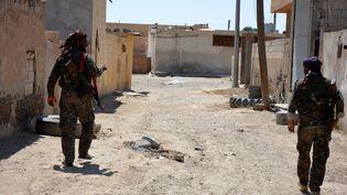 Une offensive pour délivrer la ville syrienne de Raqqa de l'Etat islamique,a été lancée le 6 juin 2017 par les Forces démocratiques syriennes, composées notamment de combattants kurdes. (MAXPPP)