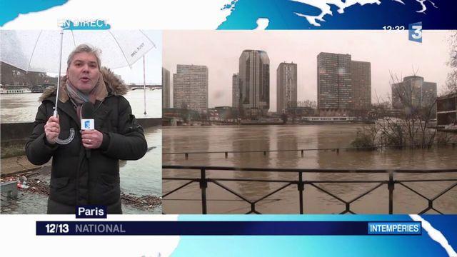 Paris : pic de crue attendu au début du week-end