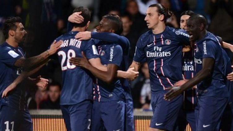 Le PSG, qui ne peut plus être rejoint par l'OM, est virtuellement champion de France.
