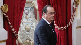 François Hollande à l'Elysée, à Paris, vendredi 24 juin 2016. (STEPHANE MAHE / REUTERS)