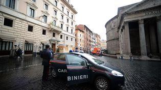La police financière italienne a démantelé un système de fraude fiscale, dont le montant est estimé à 1,7 milliard d'euros.  (FILIPPO MONTEFORTE / AFP)