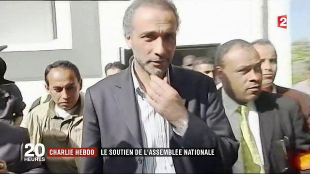 Charlie Hebdo : le soutien de l'Assemblée nationale