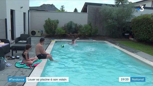Consommation : la tendance des locations de piscine