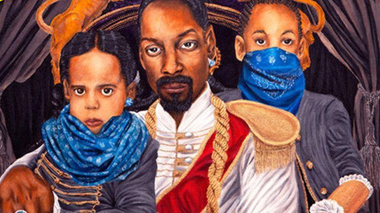 """Snoop Dogg (Calvin Broadus) et ses fils Corde et Cordell sont """"Tha Broadus Boyz"""".  (DR)"""