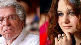 L'ancien ministre Pierre Joxe est accusé d'agression sexuelle parAriane Fornia, la fille d'Eric Besson. (PHOTOS AFP)