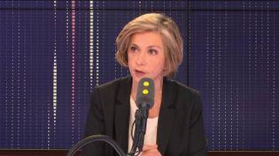 La présidente de la région Île-de-France, Valérie Pécresse,vendredi 7 décembre 2018. (RADIO FRANCE / FRANCEINFO)