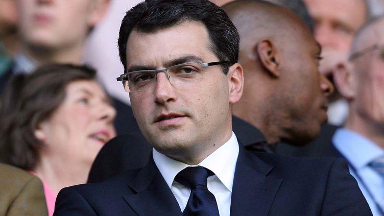 Damien Comolli, le nouveau président du TFC (IAN KINGTON / AFP)