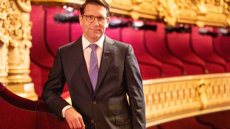 Alexander Neef, le directeur de l'Opéra national de Paris, le 4 septembre 2020. (ELÉNA BAUER - OPÉRA NATIONAL DE PARIS)