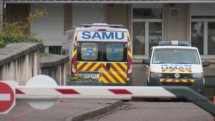 Un camion du Samu. (FRANCE 2)