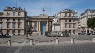 L'Assemblée nationale, à Paris, le 18 janvier 2018. (GILLES TARGAT / AFP)