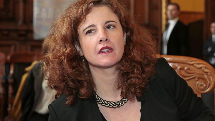 Virginie Duval, présidente de l'Union syndicale des magistrats (USM)  (JACQUES DEMARTHON / AFP)