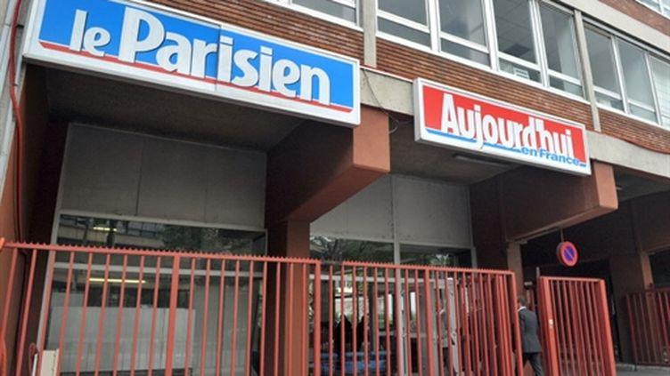 Le siège du Parisien (AFP Miguel Medina)