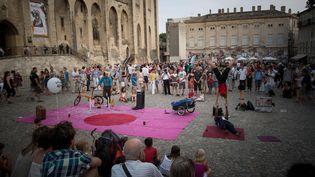 """Avignon, le festival """"off"""" du temps d'avant le Covid-19 (23 juillet 2013)... (20 MINUTES / SIPA)"""