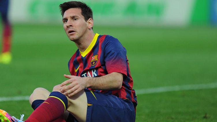 Le joueur du FC Barcelone, Lionel Messi