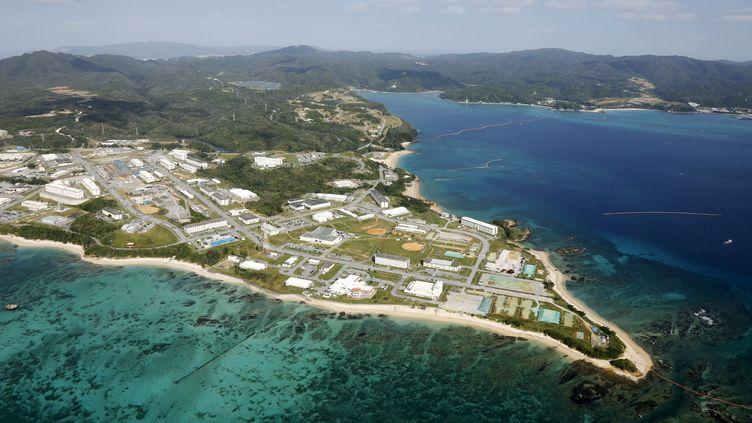 La base militaire américaine de Camp Schwab, sur l'île d'Okinawa (KYODO KYODO / REUTERS)