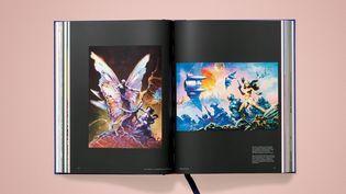"""The Mothman"" et ""Dawn Attack"" par Frank Frazetta, reproduits dans""Masterpieces of Fantasy Art"" deDian Hanson. (Copyright Editions Taschen - Frank Frazetta)"