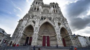 La cathédrale d'Amiens, dans la Somme, un département oùle Front national est arrivé largement en tête au premier tour des élections du 22 mars 2015. (  MAXPPP)