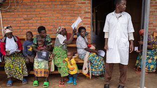 Un centre de transit des réfugiés au Rwanda, le 31 janvier 2020 (SIMON WOHLFAHRT / AFP)