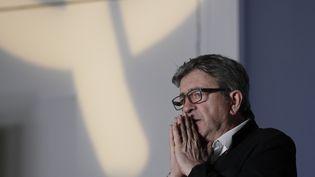 Jean-Luc Mélenchon à Paris, le 23 juin 2019. (GEOFFROY VAN DER HASSELT / AFP)