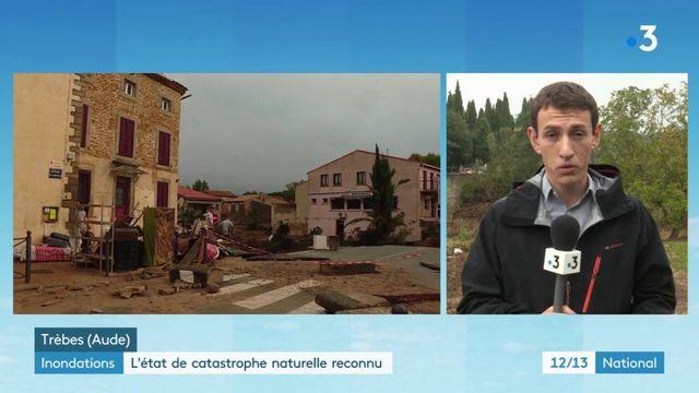 Inondations dans l'Aude : l'état de catastrophe naturelle va accélérer les procédures