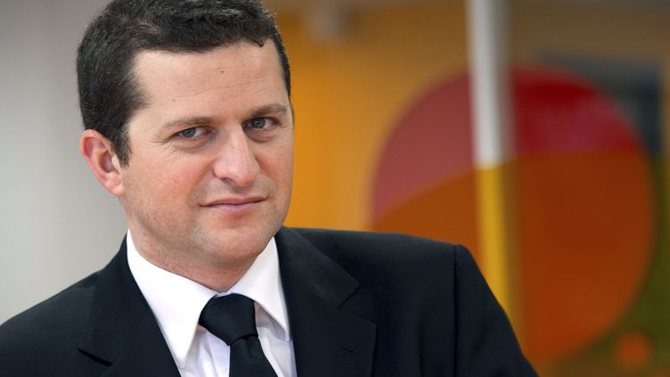 Gaël Sliman, président d'Odoxa (MIGUEL MEDINA / AFP)