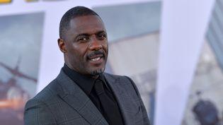"""L'acteur et musicien britannique Idris Elba à Los Angeles (Californie, Etats-Unis) le 13 juillet 2019. L'artiste anime l'""""Africa Day Concert at home"""" le 25 mai 2020 au profit de la lutte contre le Covid-19. (CHRIS DELMAS / AFP)"""