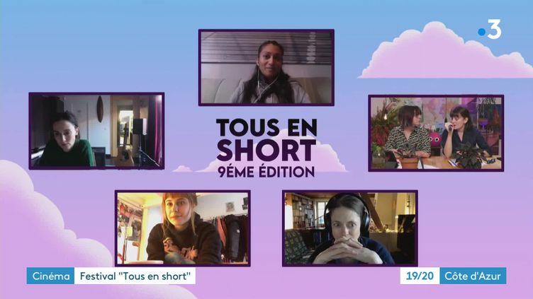 Le festival Tous en short édition 2021 (France 3)