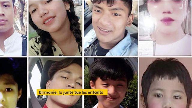 En Birmanie, une ONG dénonce la présence d'enfants parmi les victimes de la junte