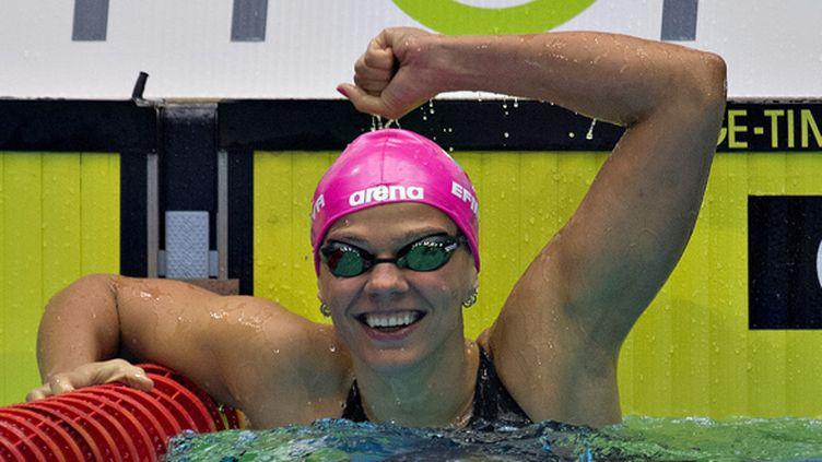 Yulia Efimova, multiple championne du monde à la brasse (CLAUS FISKER / SCANPIX DENMARK)